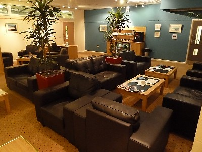 FlyBE Newquay Business Class Lounge Jan 2011