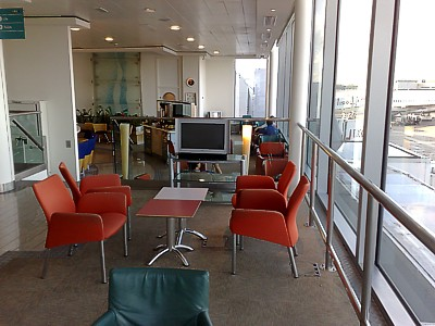 Air Malta London Business Class lounge - Holideck - May 2009