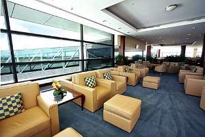 Emirates Business Class lounge Brisbane