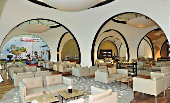 Turkish Airlines Istanbul Business Class lounge
